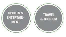 Sports and Entertainment, Travel and Tourism